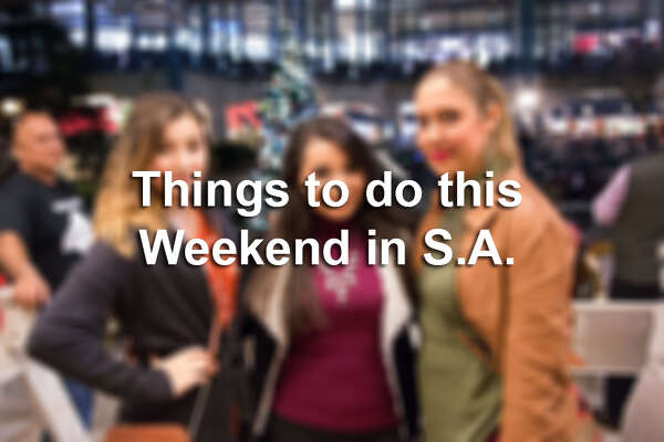 Click through to get the rundown on all the concerts, festivals and special events happening this weekend in San Antonio.