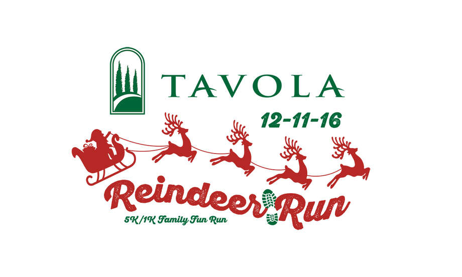 For the first year, runners and walkers alike will have the chance to wind through the newly developed Tavola neighborhood for the first Tavola Reindeer 5K Run and one-mile family fun run/walk. Photo: Submitted