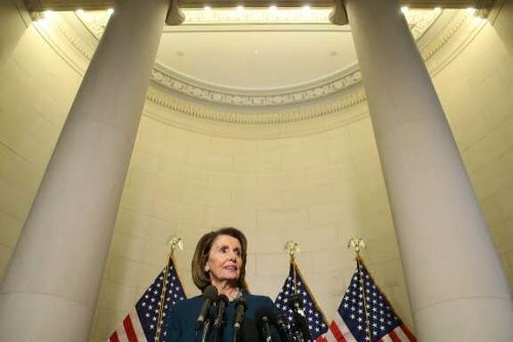 WASHINGTON, DC - NOVEMBER 30:  House Minority Leader Nancy Pelosi (D-CA), speaks to the media after winning the House Democratic leadership election on Capitol Hill, November 30, 2016 in Washington, DC. Leader Pelosi won the election and will keep her House Minority Leadership position after a challenge from Rep. Tim Ryan (D-OH).  (Photo by Mark Wilson/Getty Images)