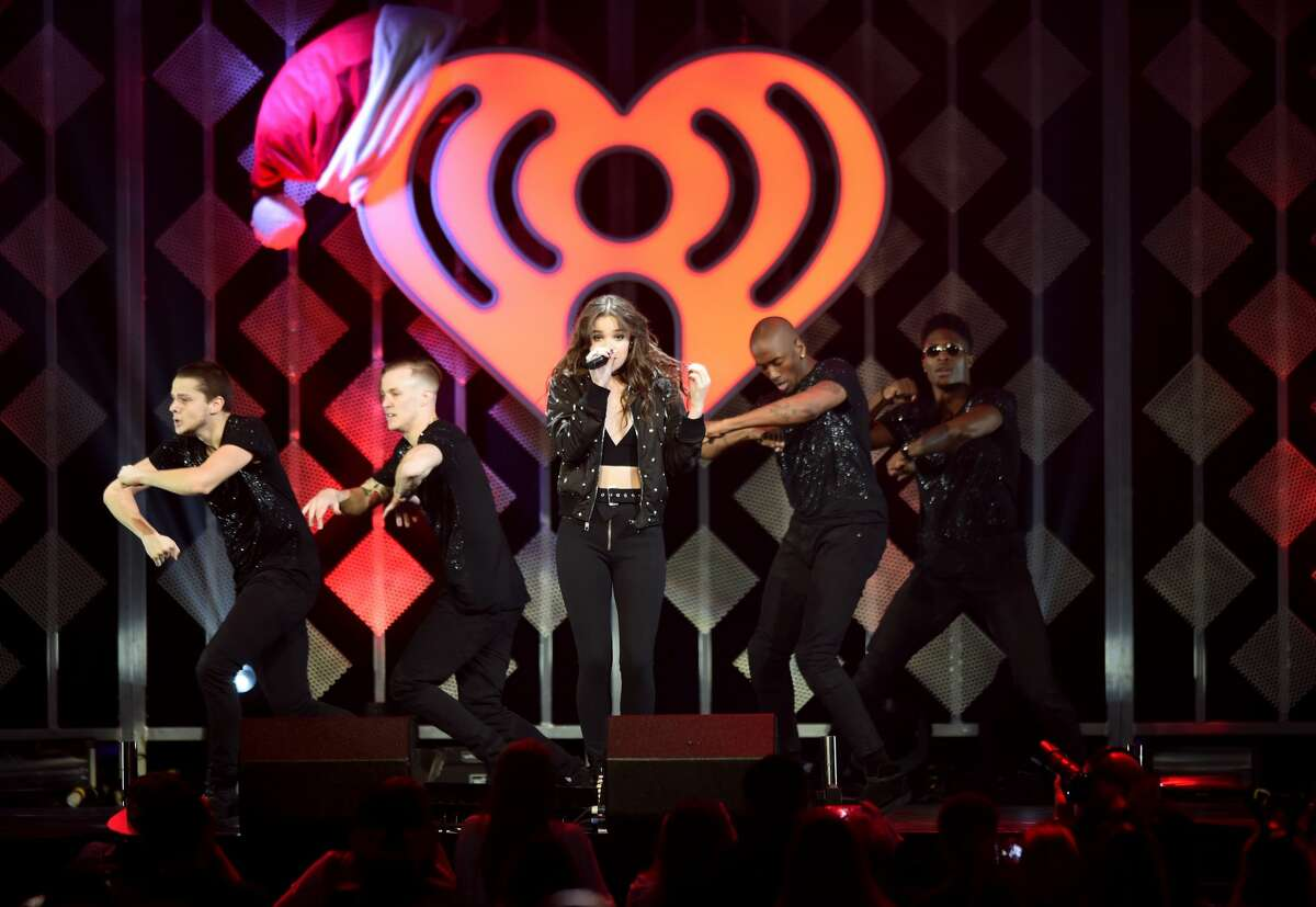 Recording artist Hailee Steinfeld performs onstage at 106.1 KISS FM's Jingle Ball 2016 presented by Capital One at American Airlines Center on November 29, 2016 in Dallas, Texas.