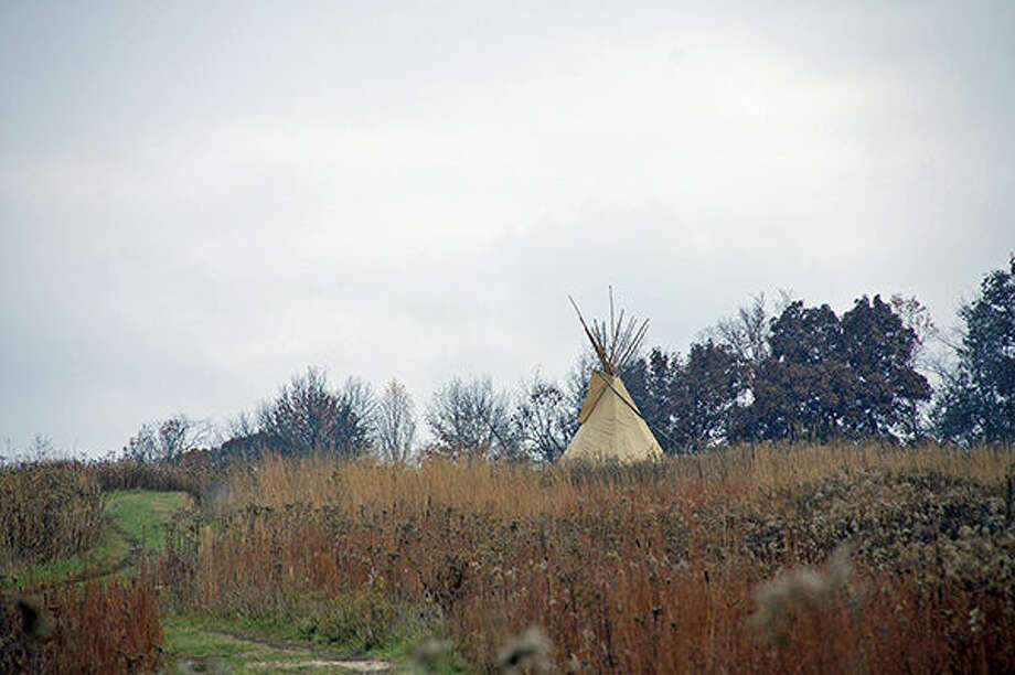 A scene from a previous Prairie Day at Shaw Nature Reserve.