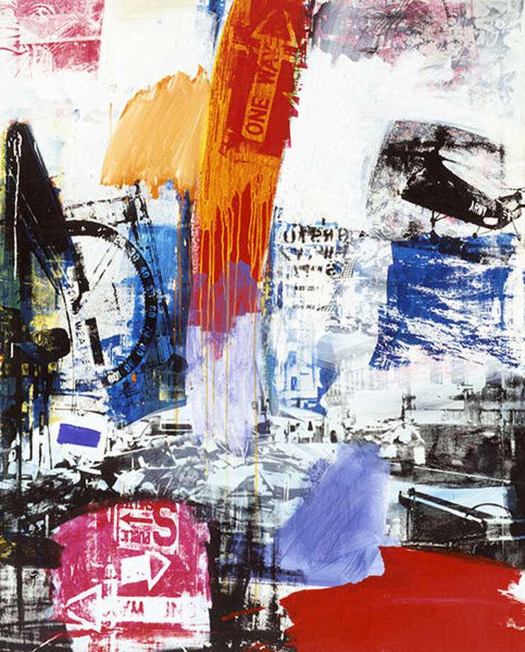 """Robert Rauschenberg's """"Choke"""" is on display at the Kemper."""