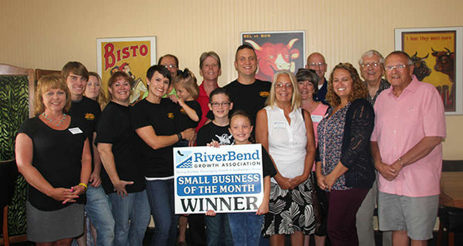 The Riverbend Growth Association honors Godfrey Meat Market as Small Business of the Month.