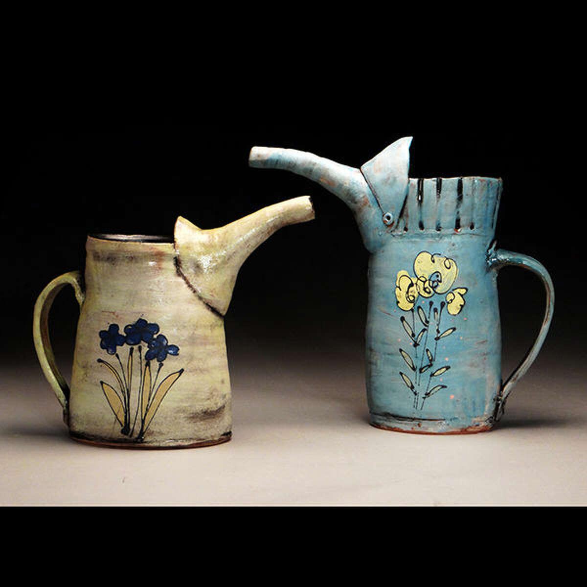 Two works by Susan Bostwick.