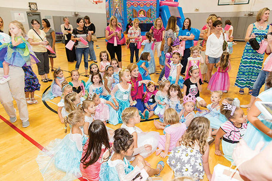 A previous Princess Party at the Edwardsville YMCA. This year's event is Aug. 20.
