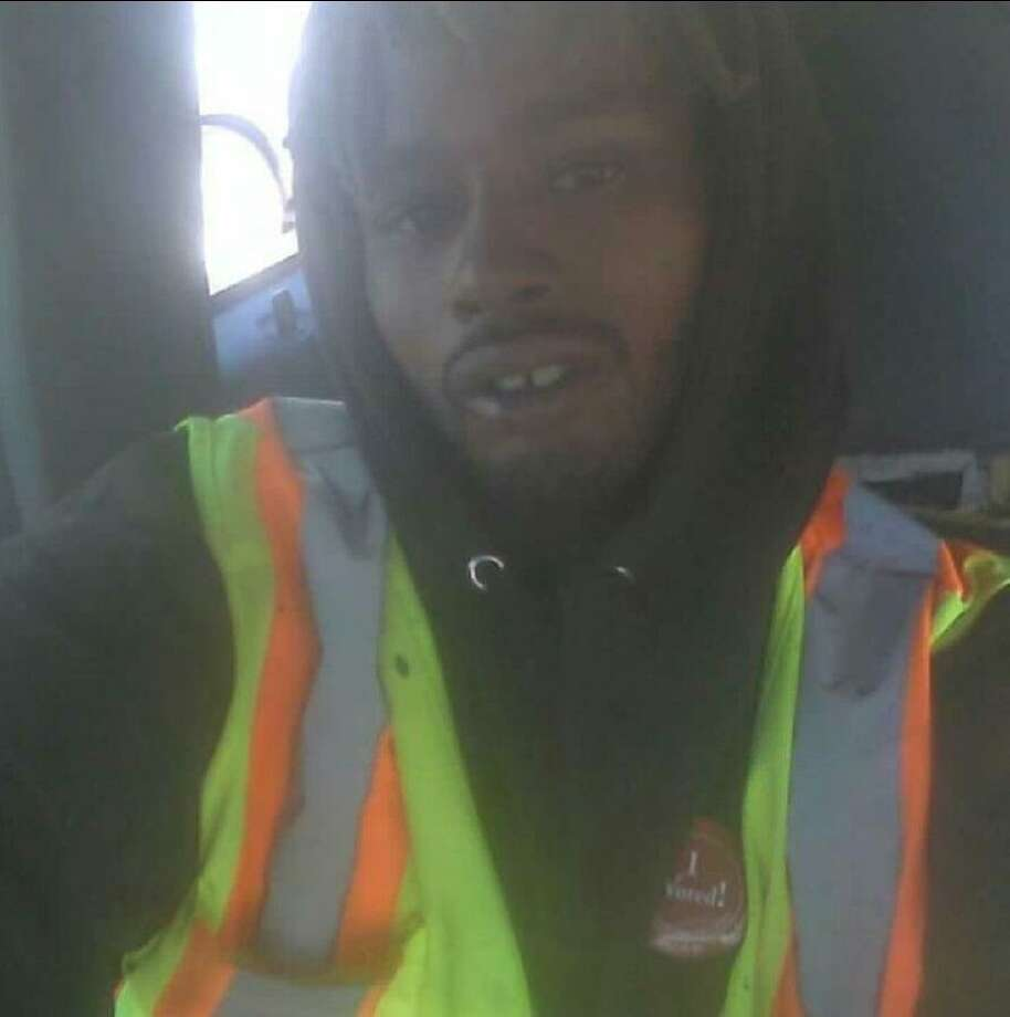 Jermaine Jackson Jr., 27, was killed Wednesday morning as he cleaned graffiti as part of his Public Works Department apprenticeship. Photo: San Francisco Public Works Department