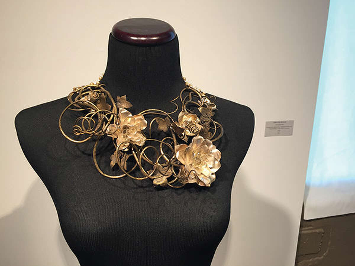 A piece of jewelry named Entangled Bliss by Caitlin McDonald.