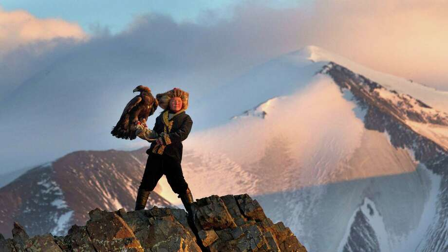 """SONY Classics Young Aisholpan is the title character in the documentary """"The EagleHuntress."""""""