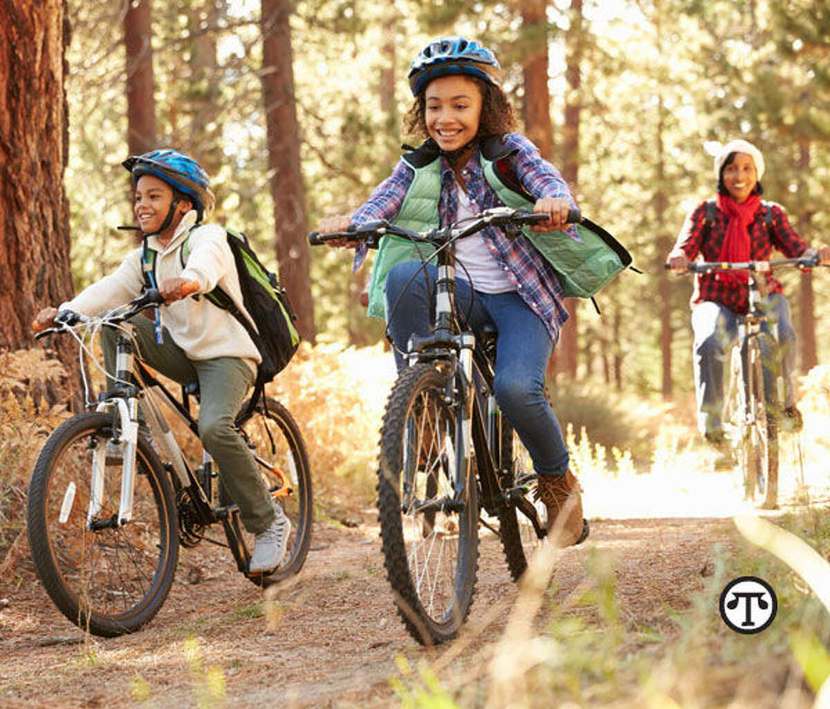 Taking your kids out for a bike ride can be a great way to spend quality time together. Just be sure they're properly protected. (NAPS)