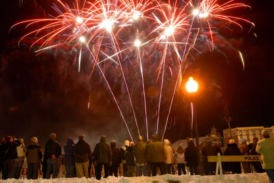 Fireworks are one of many events planned for the annual First Night Saratoga celebration. (Times Union archive)