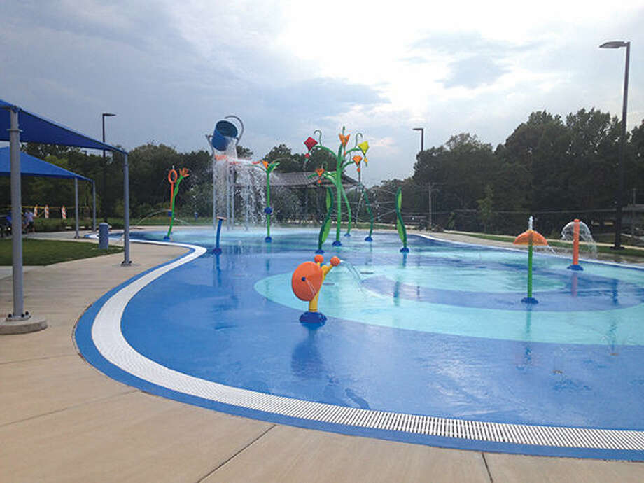 The splash pad at Leon Corlew Park will remain open through the weekend.
