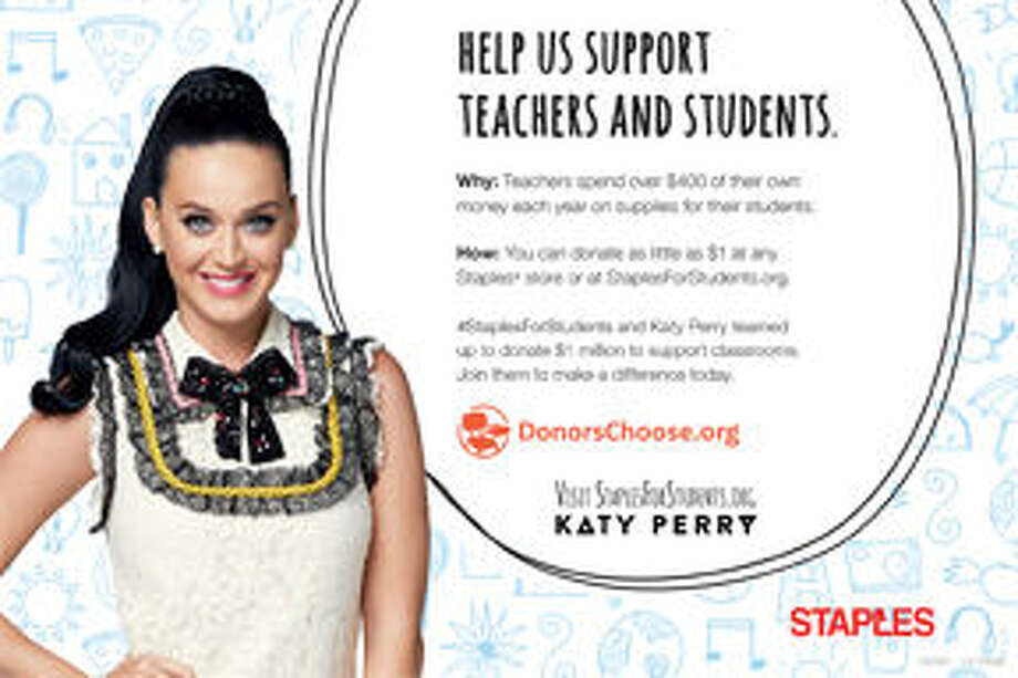 Katy Perry Helps Support Teachers and Students