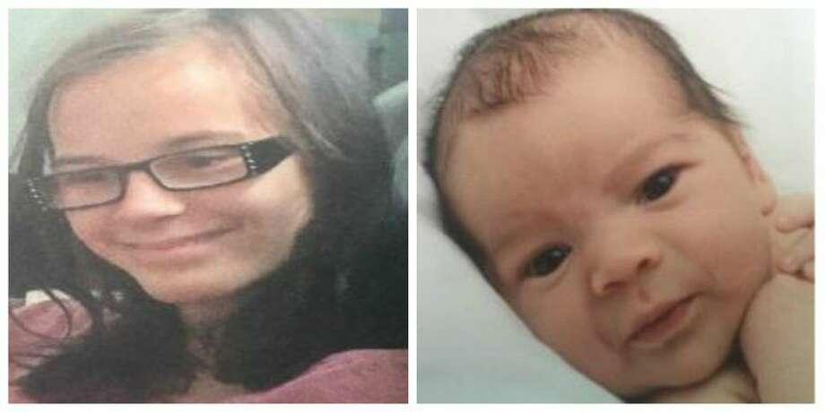 13-year-old Katherine Elizabeth Derleth and infant Christopher Ray Derleth.
