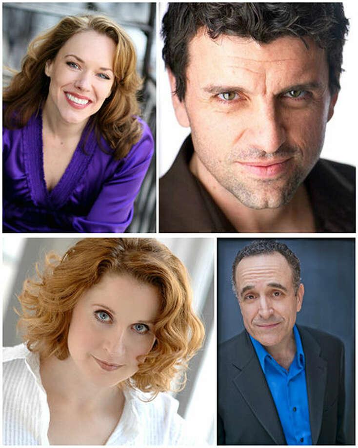 Clockwise from top left: Emily Skinner, Bradley Dean, Adam Heller and Christiane Noll.