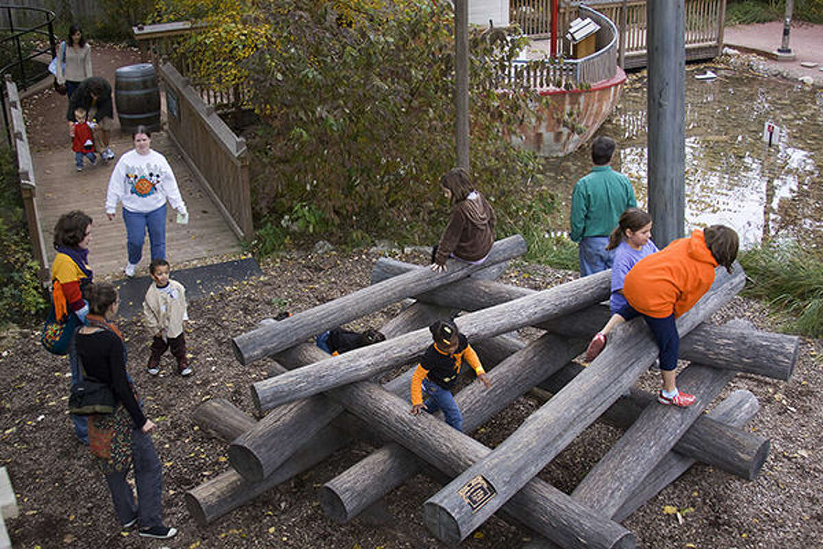 A scenes from previous fall events at the Children's Garden at the Missouri Botanical Garden.