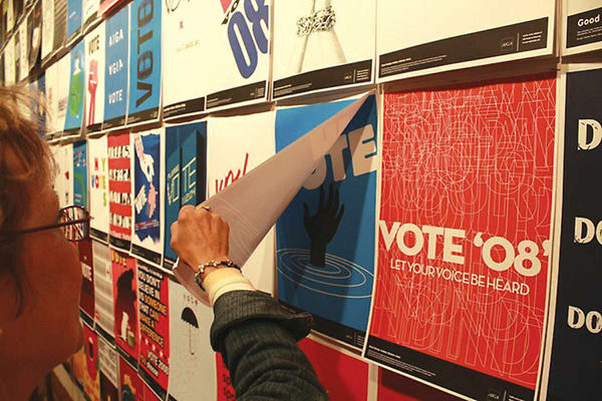 Gogh-Getters produced posters for the 2008 election.