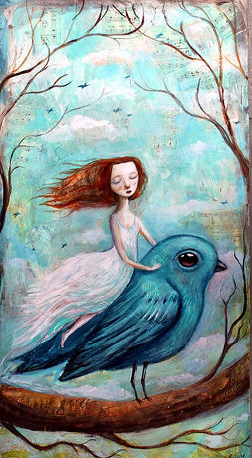 A work by Felicia Olin.