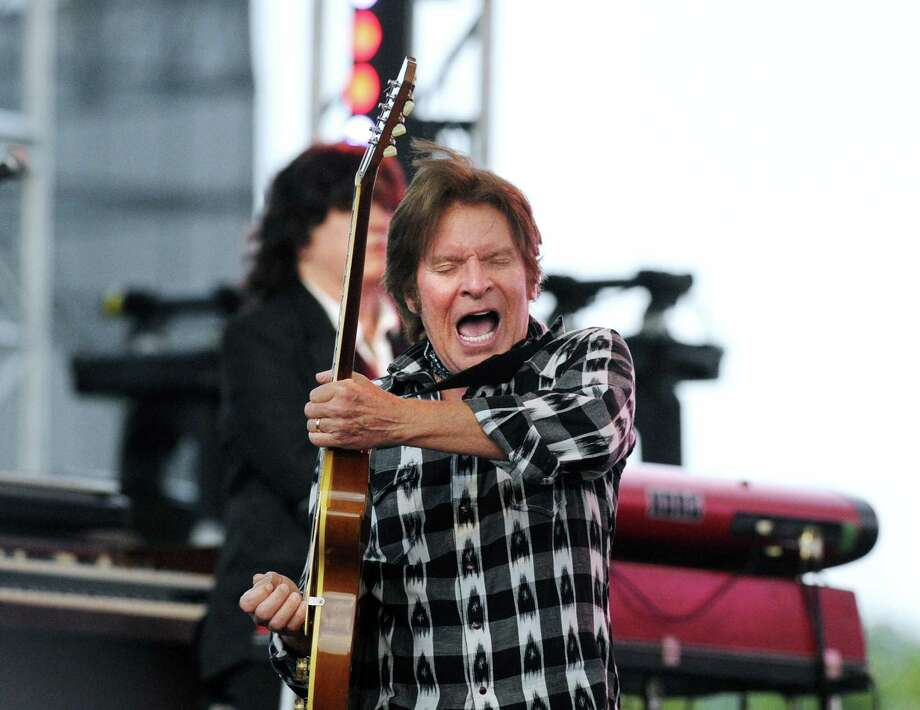 John Fogerty was a featured act at the Greenwich Town Party at Roger Sherman Baldwin Park in 2016. Tickets are going on sale Friday for the 2017 party. Photo: Bob Luckey Jr. / Hearst Connecticut Media / Greenwich Time