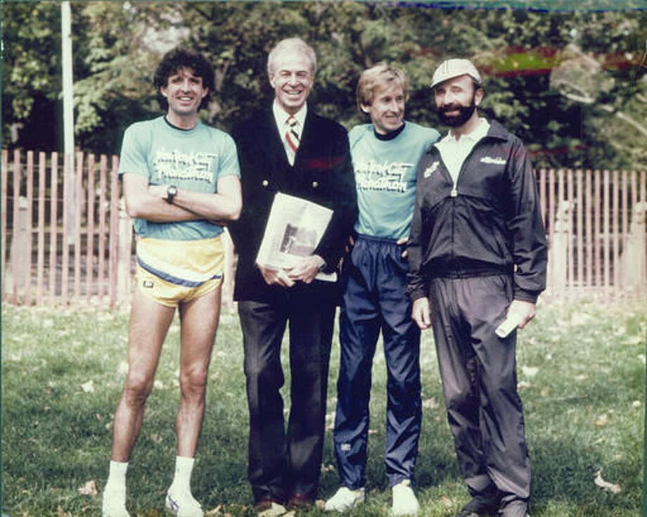 In This 1986 P O Provided New York City Marathon Co Founder George Hirsch Marathoner