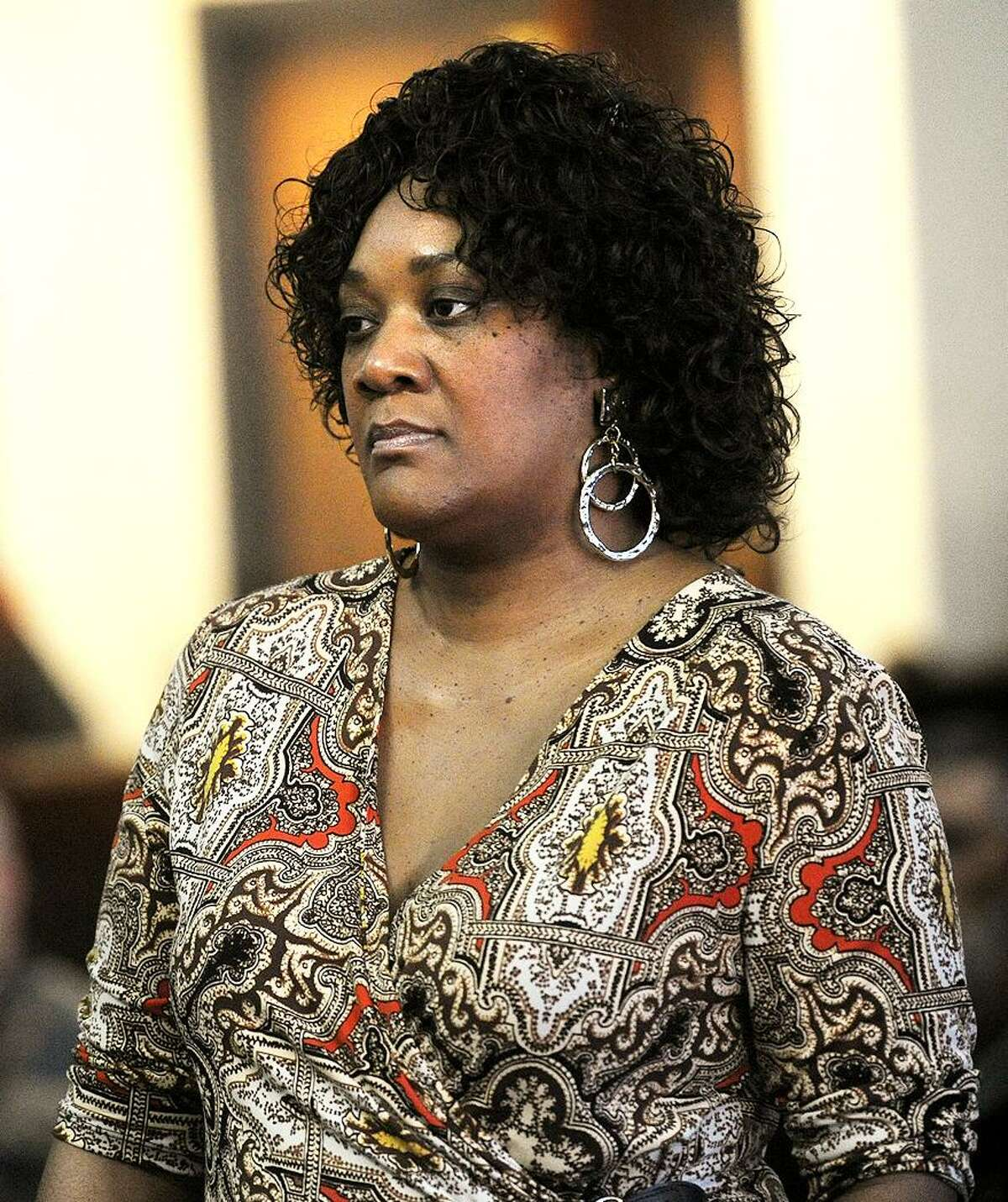 Patricia Daniels at Superior Court in Bridgeport, Conn. on, January 22, 2015.