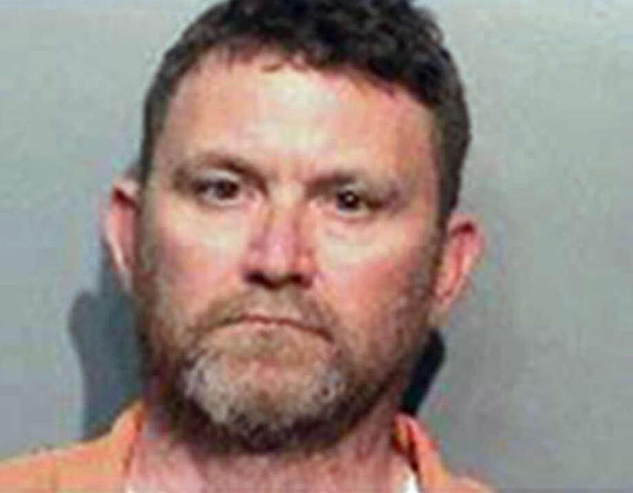 This undated photo provided by the Des Moines Police Department shows Scott Michael Greene, of Urbandale, Iowa. Des Moines and Urbandale Police said in a statement Wednesday, Nov. 2, 2016, that they have identified Greene as a suspect in the killings early Wednesday morning of two Des Moines area police officers. The two officers were shot to death in separate ambush-style attacks while they were sitting in their patrol cars. (Des Moines Police Department via AP)
