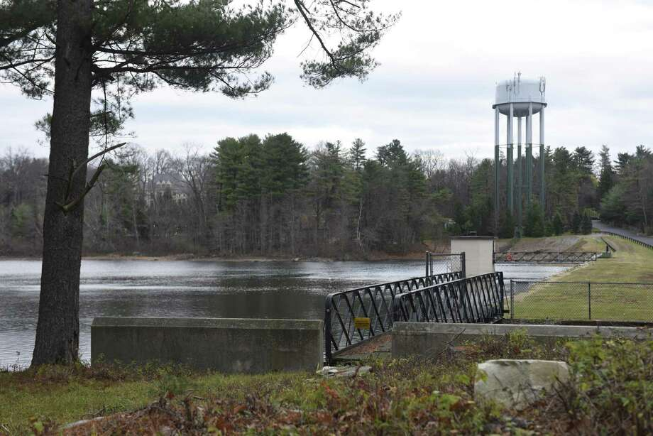 The Putnam Reservoir in Greenwich, Conn., photographed on Thursday, Nov. 1, 2016. Despite the recent heavy rainfall, the drought conditions are still severe and only had a minor impact on the 10-inch rainfall deficit. Photo: Tyler Sizemore / Hearst Connecticut Media / Greenwich Time