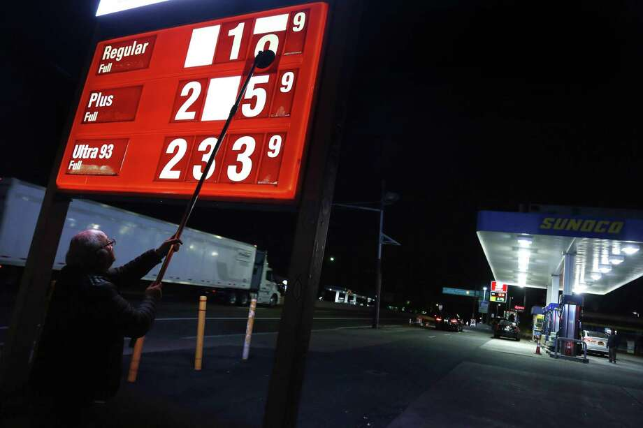 "Analysts say consumers and businesses are not likely to see the return of $100-a-barrel oil — and the high energy costs that came with it — anytime soon in the wake of OPEC's deal. But there could be some short-term shocks even before the cuts take effect in January. ""The average Joe filling up his tank may notice in the next week or two that gas prices move higher by 5 to 15 cents a gallon just on the psyche of the deal,"" said Patrick DeHaan, an analyst for GasBuddy, a site used to comparison-shop for gasoline. Photo: Seth Wenig /Associated Press / Copyright 2016 The Associated Press. All rights reserved."