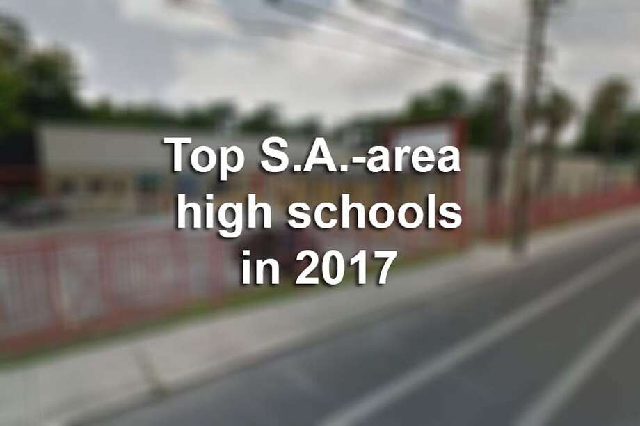 Data released from Niche shows how high schools in different neighborhoods around San Antonio compare to each other in academic quality, activities and access to resources.Here are the top San Antonio-area high schools in 2017, according to Niche. Photo: Mysa