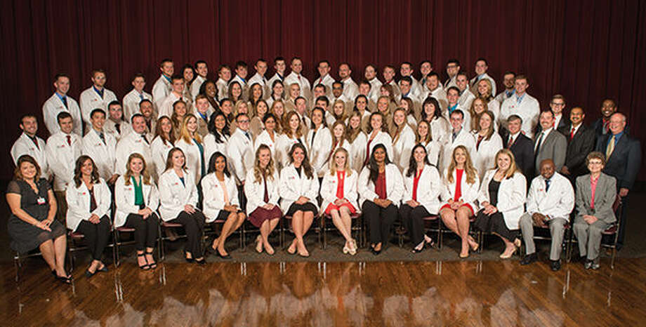 The SIUE School of Pharmacy Class of 2020.