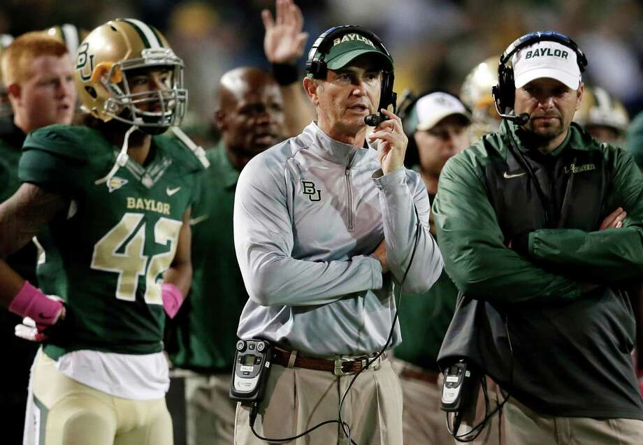 Two Baylor groups want transparency regarding the Pepper Hamilton Report, including specific reasons for the termination of football coach Art Briles. Photo: Tony Gutierrez/The Associated Press File Photo, STF / AP