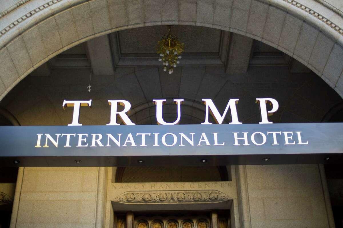 The Trump International Hotel in downtown Washington, D.C. (AP Photo/Pablo Martinez Monsivais, File)