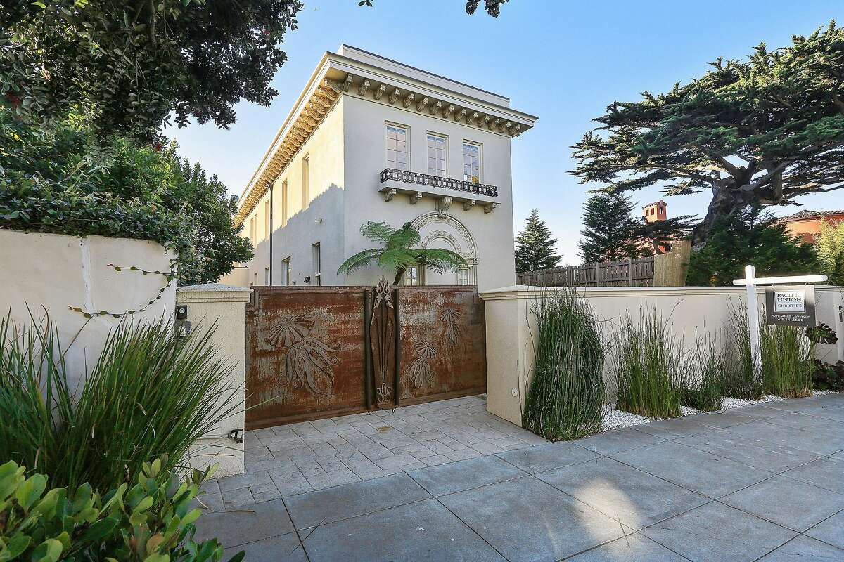 308 Sea Cliff Ave. is a Neo-Classical home built in 1922 and listed at $16 million.