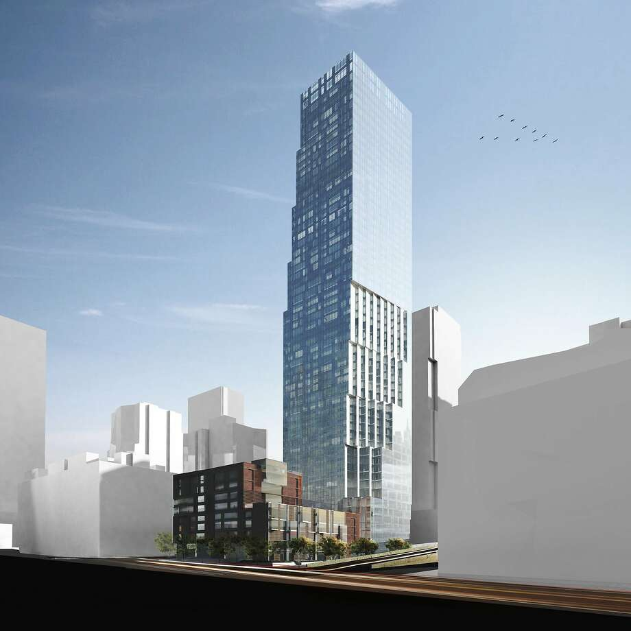 245 First St. (under construction)  Photo: OMA And Fougeron Architecture