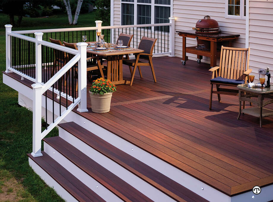 Composite decking can give you natural wood beauty without all the work. (NAPS)