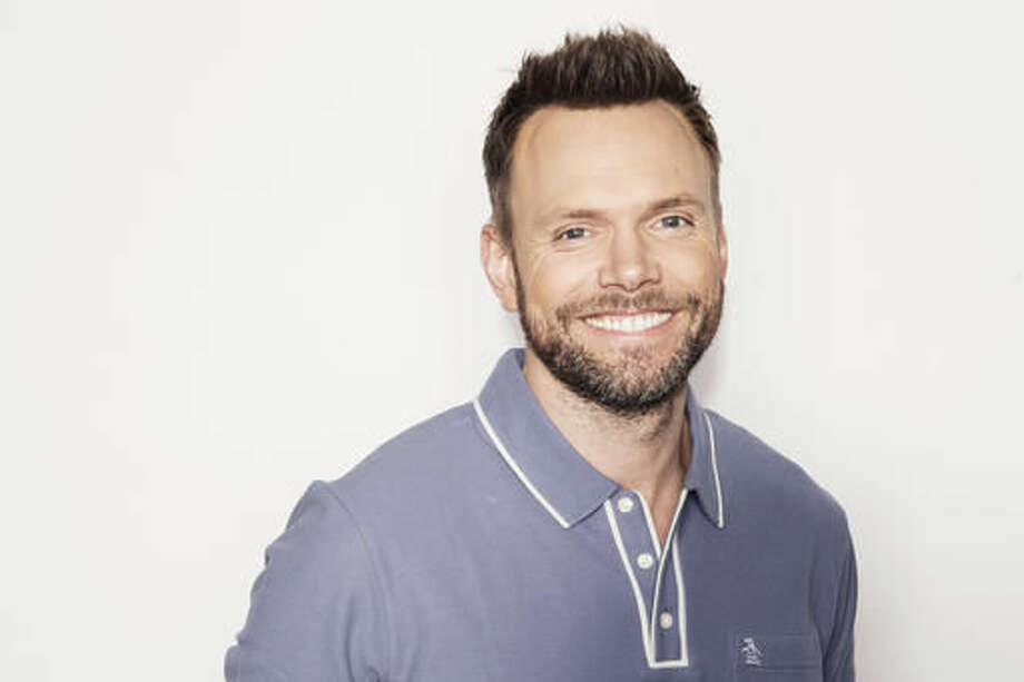 "In this Oct. 28, 2016 photo, actor and author Joel McHale poses for a portrait in New York to promote his book, ""Thanks for the Money: How to Use My Life Story to Become the Best Joel McHale You Can Be."" (Photo by Victoria Will/Invision/AP)"