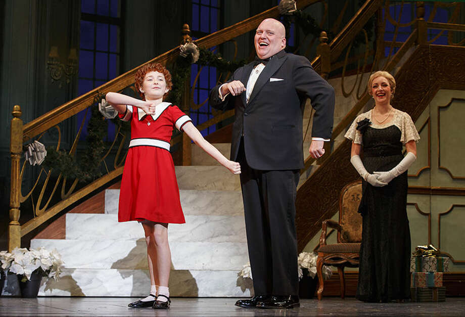 "Pictured is a scene from ""Annie,"" which will be performed at The Fox Dec. 2, 3 and 4."