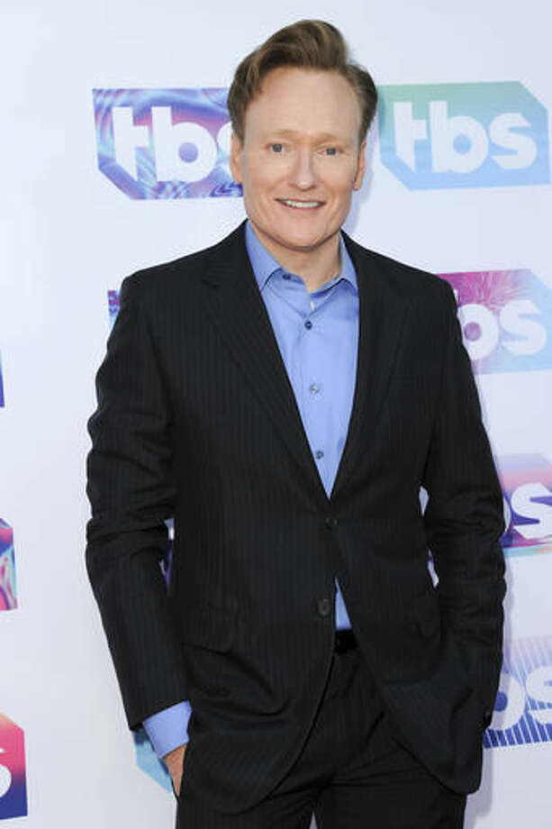 "FILE - In this May 24, 2016 file photo, Conan O'Brien attends ""A Night Out With"" FYC Event in Los Angeles. O'Brien will host the Nobel Peace Prize concert on Dec. 11 in Oslo, Norway. (Photo by Richard Shotwell/Invision/AP, File)"