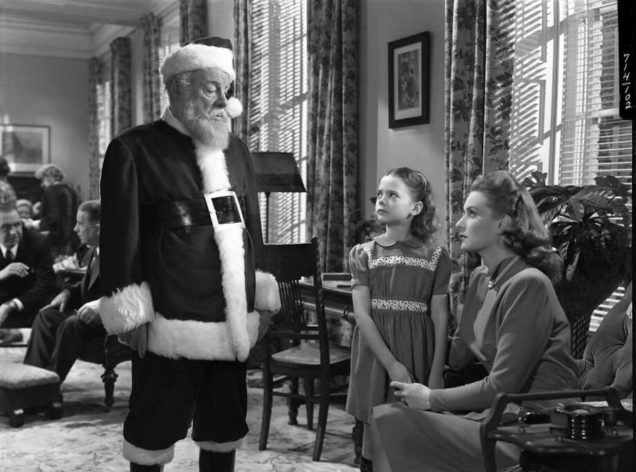 """#6. """"Miracle on 34th Street""""Smart Rating: 94.99Release year: 1947Starring: Maureen O'Hara, John Payne, Edmund GwennIn this Christmas classic, an old man going by the name of Kris Kringle (Edmund Gwenn) fills in for an intoxicated Santa in Macy's annual Thanksgiving Day parade. Kringle proves to be such a hit that he is soon appearing regularly at the chain's main store in midtown Manhattan. When Kringle surprises customers and employees alike by claiming that he really is Santa Claus, it leads to a court case to determine his mental health and, more importantly, his authenticity."""