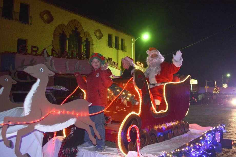 Santa Claus Photo: Doug McDonough/Plainview Herald