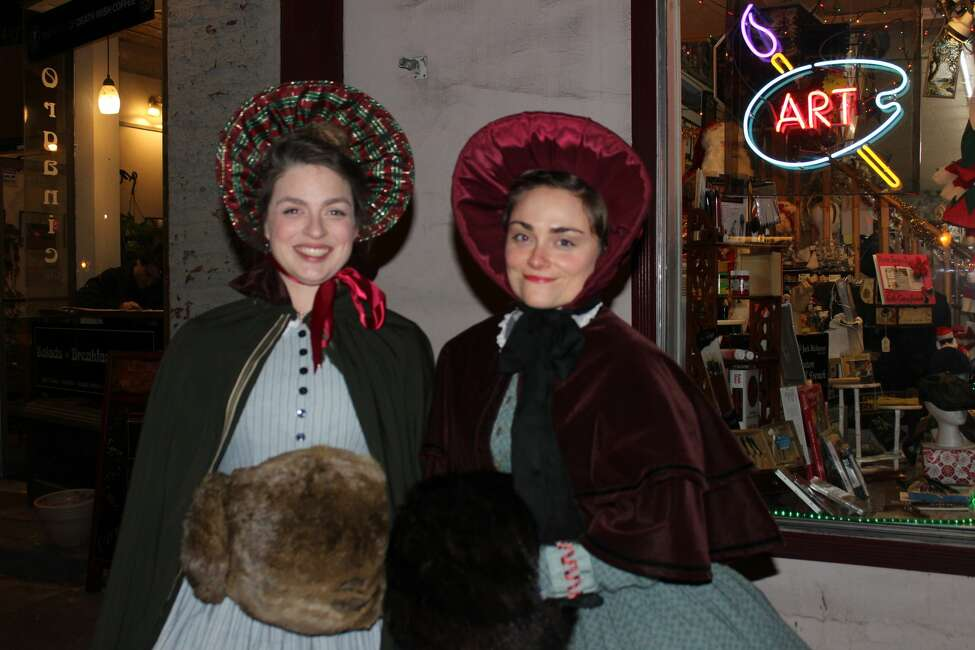 Were you Seen at the 30th Annual Victorian Streetwalk in downtown Saratoga Springs on Thursday, Dec. 1, 2016?