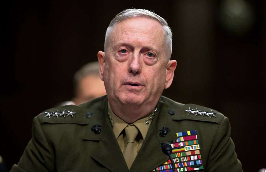 Retired Gen. James Mattis, President-elect Donald Trump's pick for defense secretary, has praised Hillary Clinton's work in Israel and Palestine. Photo: Evan Vucci, STF / AP2013