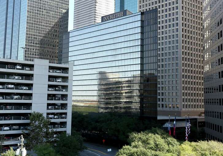 Downtown's DoubleTree hotel will be revamped, like the neighboring Allen Center office complex.