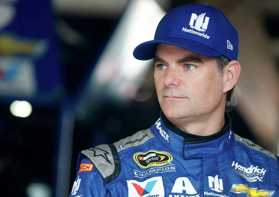 DOVER, DE - SEPTEMBER 30:  Jeff Gordon, driver of the #88 Nationwide Chevrolet, stands in the garage area during practice for the NASCAR Sprint Cup Series Citizen Solider 400 at Dover International Speedway on September 30, 2016 in Dover, Delaware.  (Photo by Brian Lawdermilk/Getty Images) ORG XMIT: 595738723 Photo: Brian Lawdermilk / 2016 Getty Images