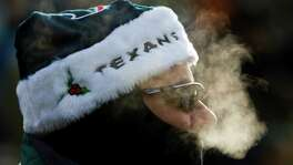 Texans fan Carl Tragesser can brag that he was in attendance for the coldest game in franchise history. It was 3 degrees at game time at Lambeau Field when the Texans used a late field goal to beat Green Bay on Dec. 7, 2008.
