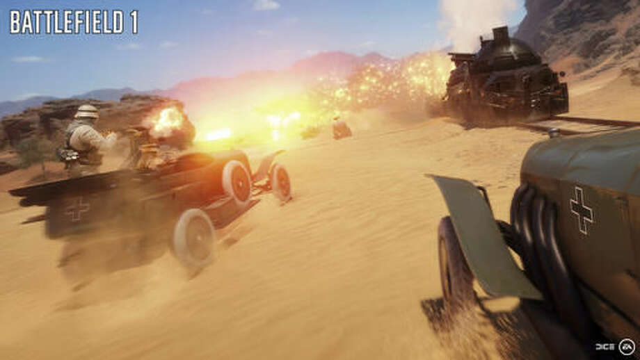 """This image released by Electronic Arts shows a scene from """"Battlefield 1."""" (Electronic Arts via AP)"""