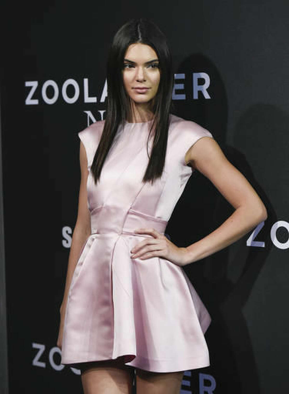 """FILE - In this Feb. 9, 2016 file photo, model Kendall Jenner attends the world premiere of """"Zoolander 2"""" in New York. Closing arguments are scheduled to begin Thursday, Oct. 20, in the stalking trial of a man arrested outside Jenner's Hollywood Hills home in August 2016. (Photo by Evan Agostini/Invision/AP, File)"""