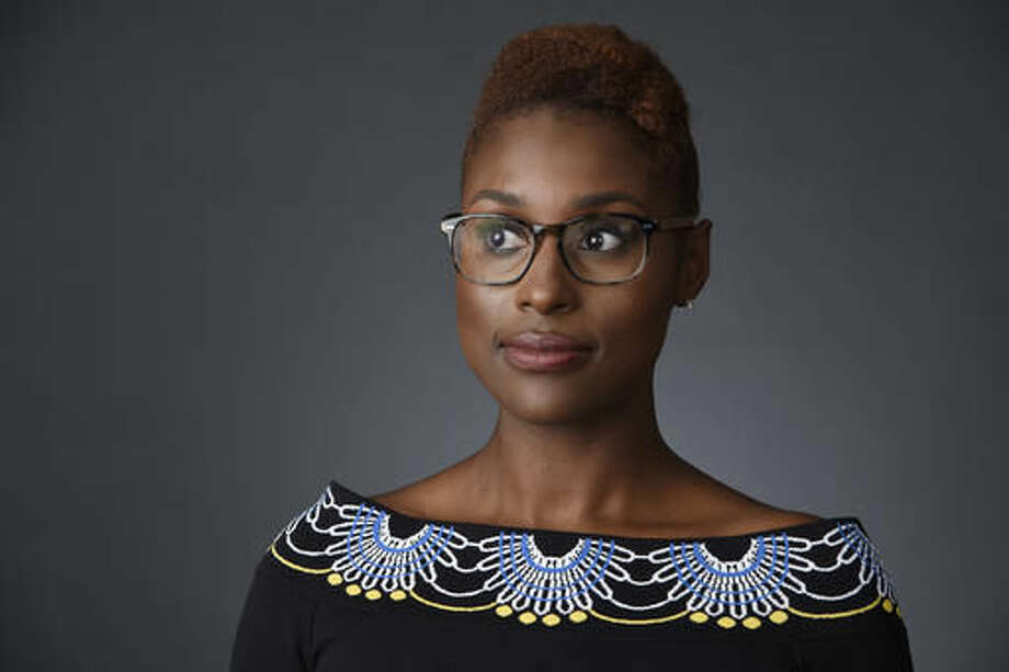 "In this July 30, 2016 photo, Issa Rae, star of the HBO series ""Insecure,"" poses for a portrait during the 2016 Television Critics Association Summer Press Tour in Beverly Hills, Calif. ""Insecure"" airs Sundays at 10:30p.m. on HBO. (Photo by Chris Pizzello/Invision/AP)"