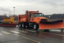 This winter, the Connecticut Department of Transportation will be using three, supersized snowplows that are capable of clearing two highway lanes in a single pass. Mounted lasers will help prevent the wide plows from hitting obstances, or vehicles. Towed in the rear of a truck, the plows measure 26 feet in length, essentially doubling the width of a single plow truck when in operation.