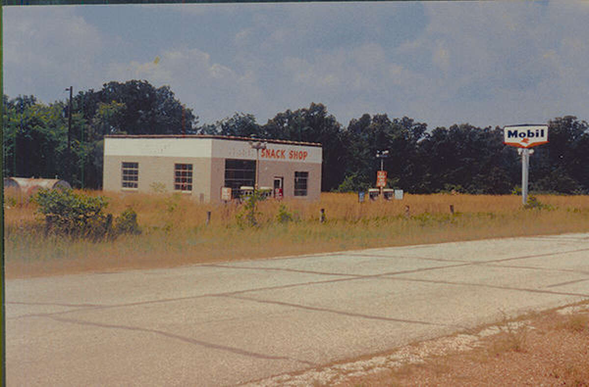 A Route 66 Relic: An abandoned gas station in Chaffeyville, Mo.