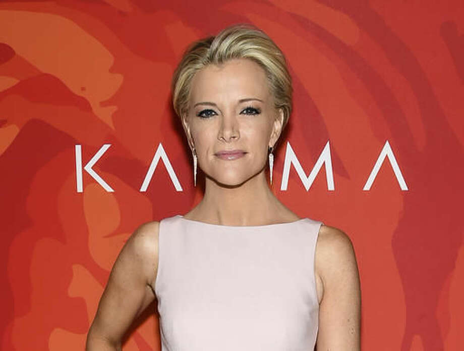 """FILE - In this April 8, 2016 file photo, Fox News anchor Megyn Kelly attends the 2016 Variety's Power of Women: New York in New York. Fox News' Kelly is booked to co-host the morning talk show """"Live"""" with Kelly Ripa on the day after the election. The show said it will be Kelly's first time as a co-host. (Photo by Evan Agostini/Invision/AP, File)"""